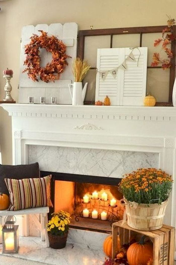 Modern diy thanksgiving decorations ideas for home 38