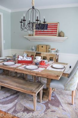 Newest 4th of july table decorations ideas 08