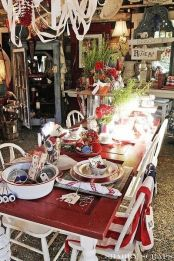 Newest 4th of july table decorations ideas 14