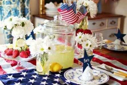 Newest 4th of july table decorations ideas 22