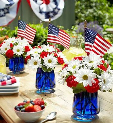 Newest 4th of july table decorations ideas 32