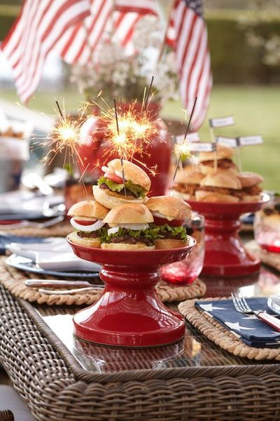 44 Newest 4th Of July Table Decorations Ideas Roundecor