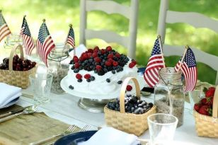 Newest 4th of july table decorations ideas 44