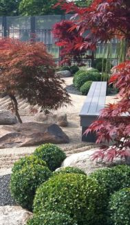 Outstanding japanese garden designs ideas for small space 23