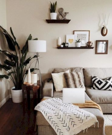 Simple living room designs ideas 47