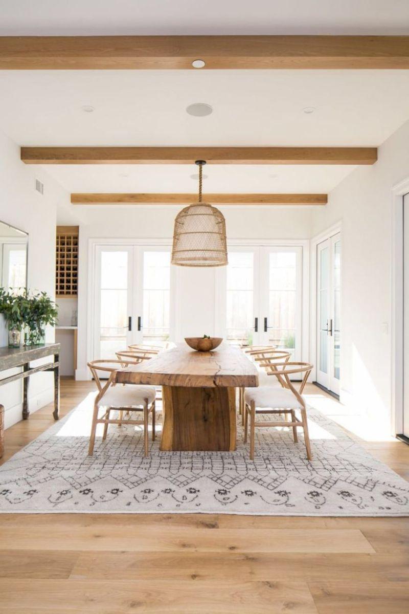Stylish dining room design ideas 25
