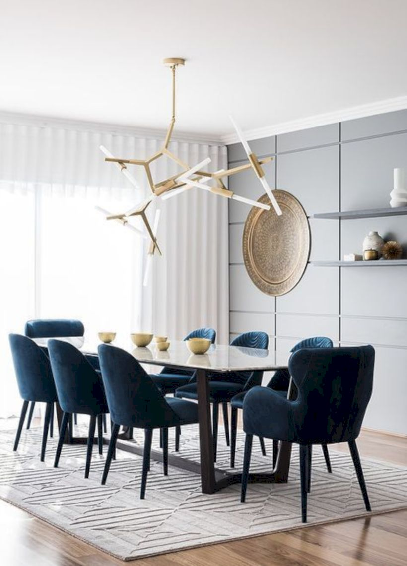 Stylish dining room design ideas 26