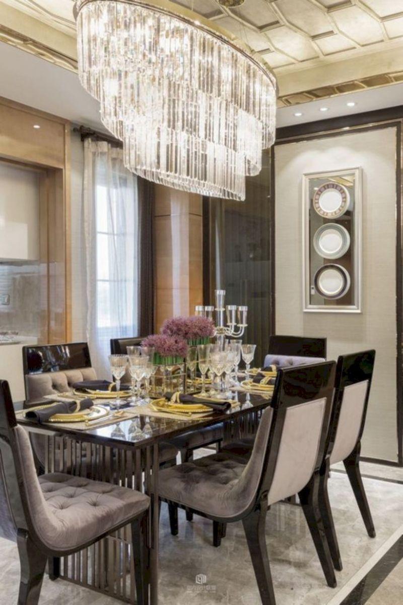 Stylish dining room design ideas 32