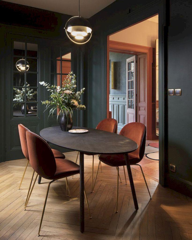 Stylish dining room design ideas 43