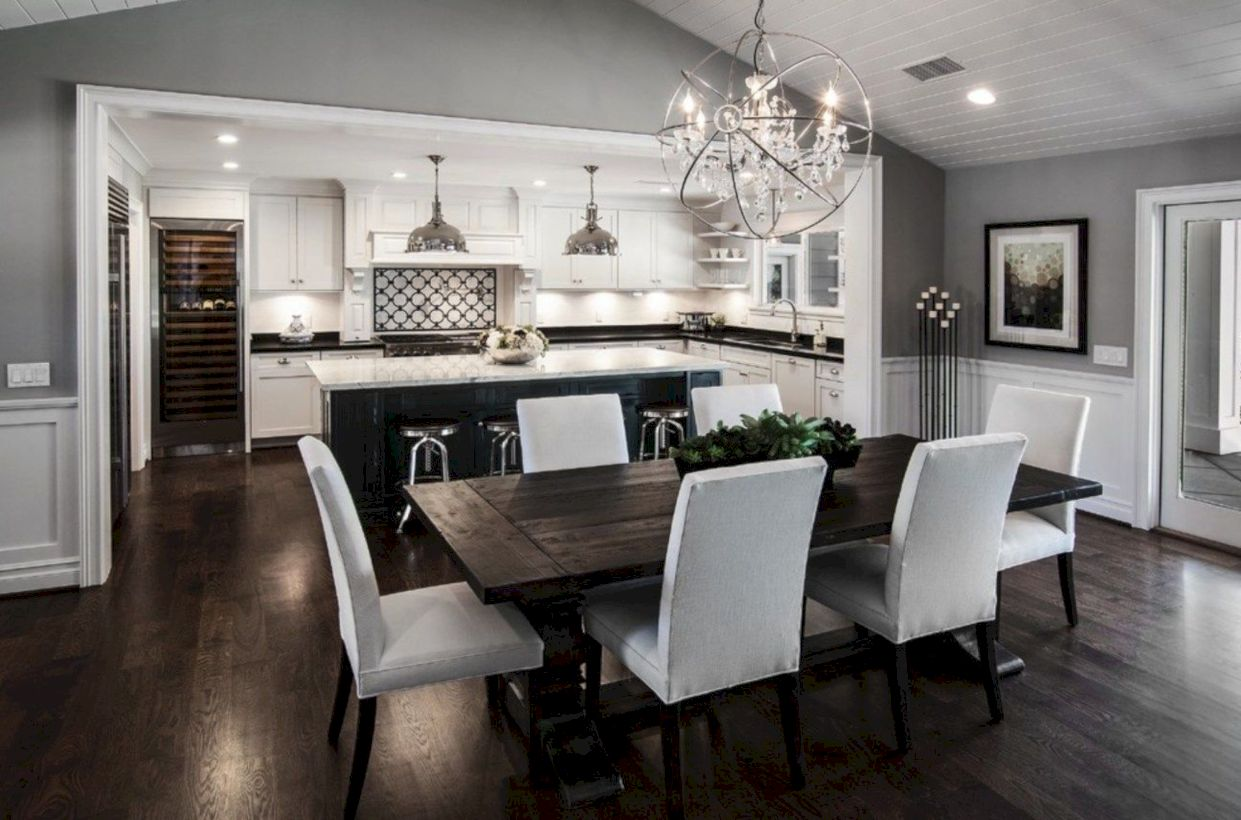 Stylish dining room design ideas 44