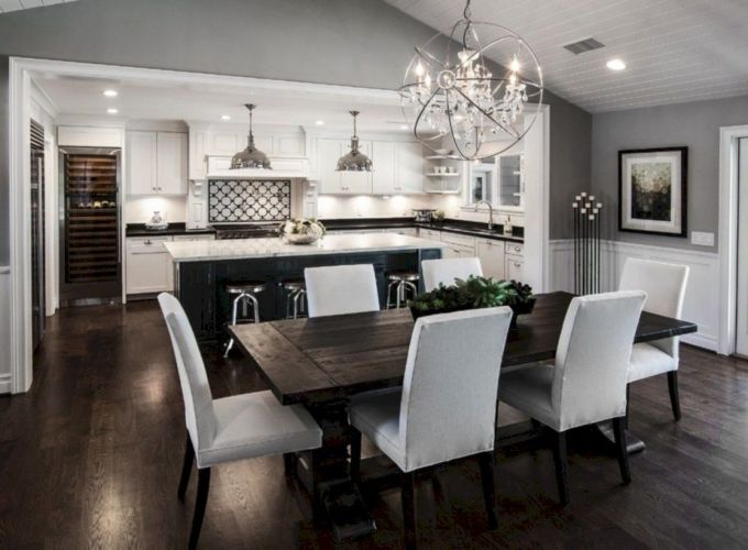 Stylish dining room design ideas 44