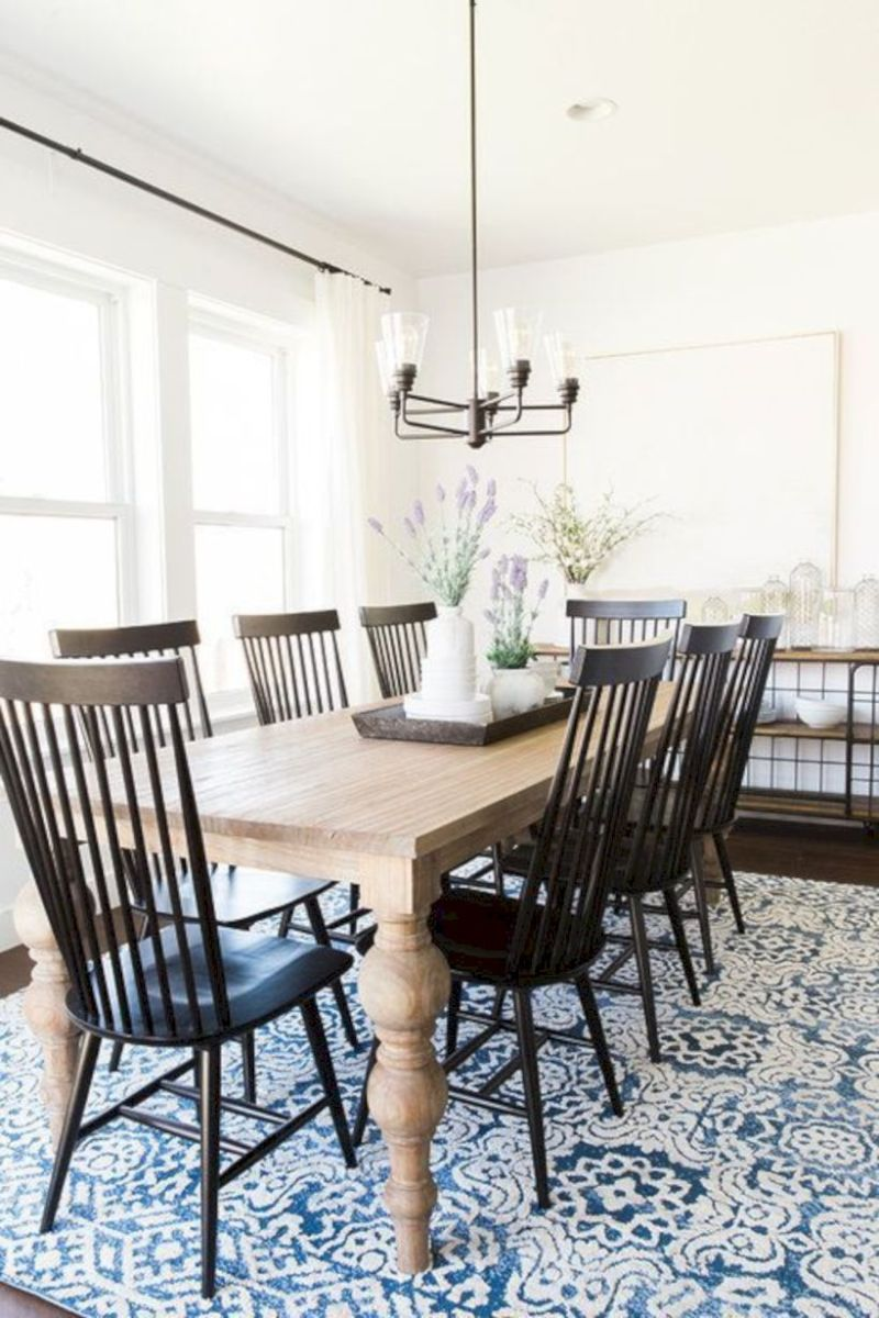 Stylish dining room design ideas 46