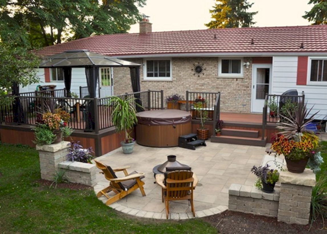 Unordinary patio designs ideas 17
