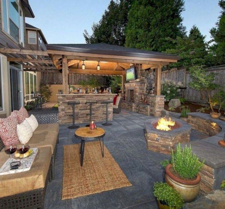 Unordinary patio designs ideas 24