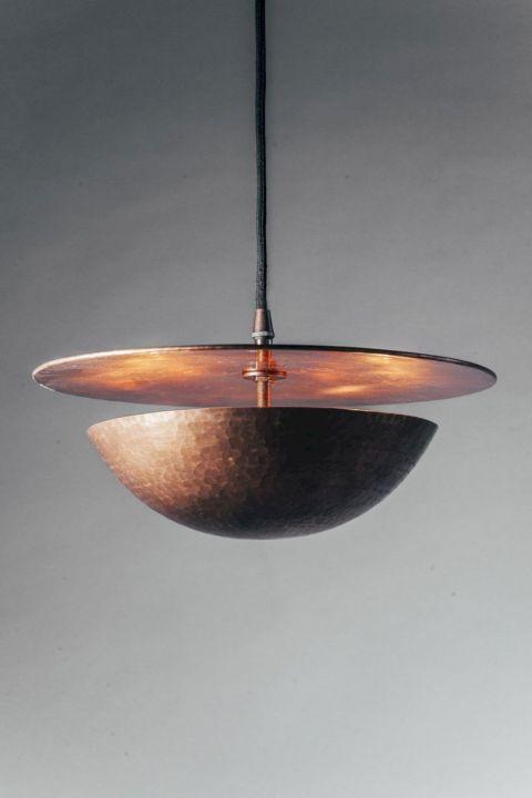 Unusual copper light designs ideas 33