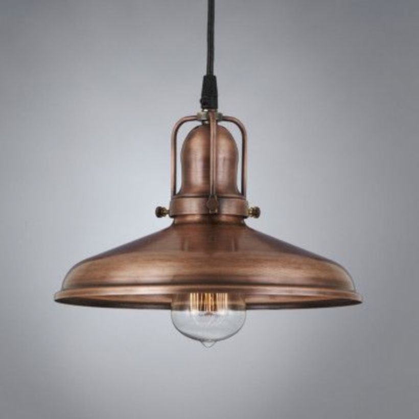 Unusual copper light designs ideas 45