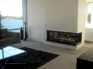 Attractive painted brick fireplaces ideas 21