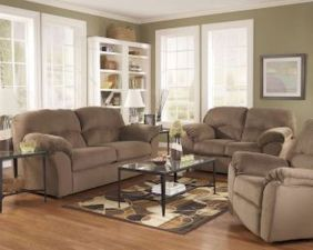 Awesome living room paint ideas by brown furniture 12