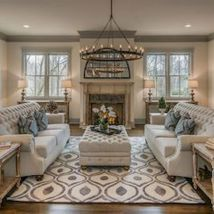 Awesome living room paint ideas by brown furniture 23