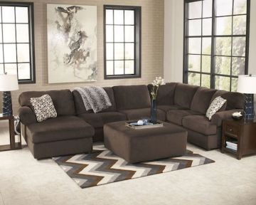 Awesome living room paint ideas by brown furniture 30