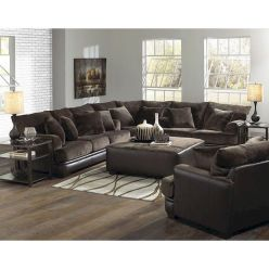 Awesome living room paint ideas by brown furniture 40