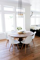 Best scandinavian chairs design ideas for dining room 02