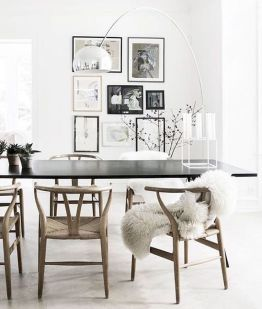 Best scandinavian chairs design ideas for dining room 14