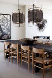 Best scandinavian chairs design ideas for dining room 37