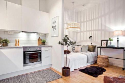Cool diy beautiful apartments design ideas 38