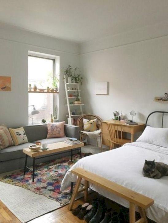 Cool diy beautiful apartments design ideas 39