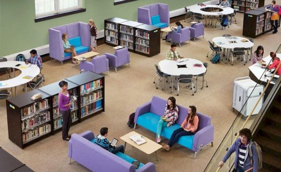 Creative library trends design ideas 23
