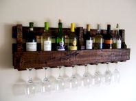 Elegant wine rack design ideas using wood 07