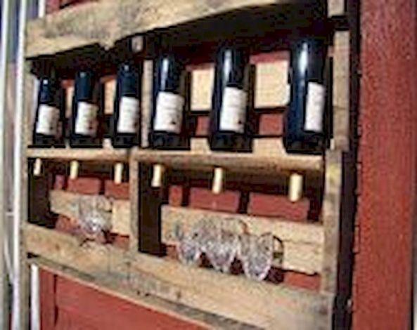 Elegant wine rack design ideas using wood 13