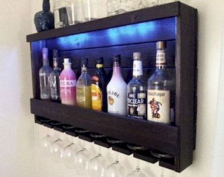 Elegant wine rack design ideas using wood 16