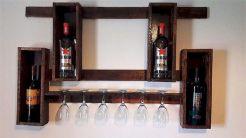 Elegant wine rack design ideas using wood 18