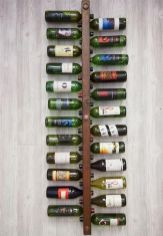 Elegant wine rack design ideas using wood 20