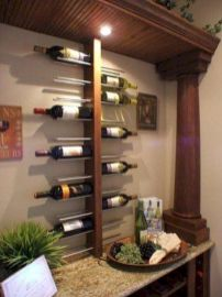 Elegant wine rack design ideas using wood 21