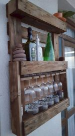 Elegant wine rack design ideas using wood 22