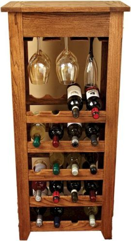 Elegant wine rack design ideas using wood 29