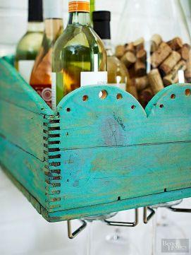 Elegant wine rack design ideas using wood 43