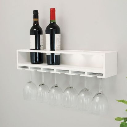 Elegant wine rack design ideas using wood 44
