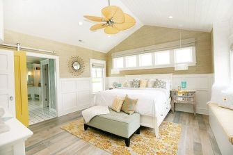 Gorgeous coastal bedroom design ideas to copy right now 42