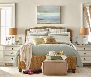 Gorgeous coastal bedroom design ideas to copy right now 43
