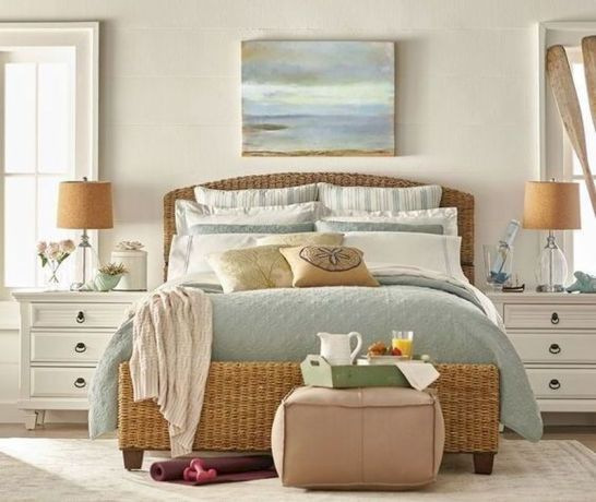 Gorgeous coastal bedroom design ideas to copy right now 43