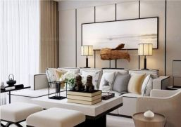 Impressive chinese living room decor ideas 28