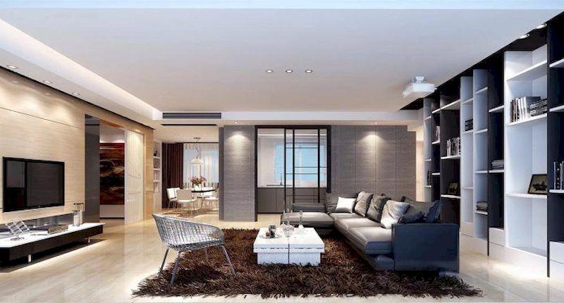 Impressive chinese living room decor ideas 29