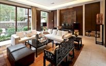 Impressive chinese living room decor ideas 30
