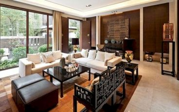 Impressive chinese living room decor ideas 30