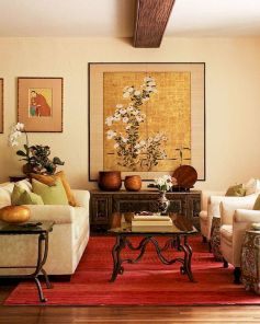 Impressive chinese living room decor ideas 35