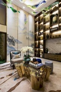 Impressive chinese living room decor ideas 38